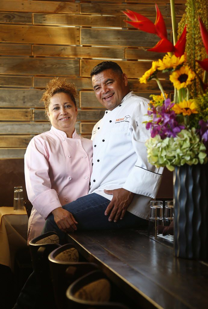 Raul Reyes and Olga Sosa have operated Mesa Mexican Cuisine on Jefferson Boulevard in Oak Cliff for eight years.