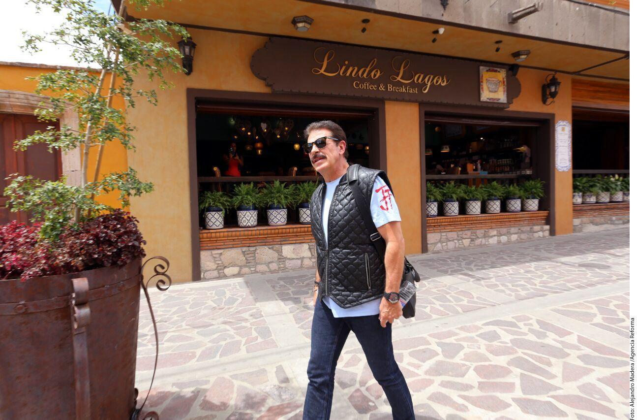 Sergio Goyri terminó su contrato de exclusividad con Televisa luego de 35 años./AGENCIA REFORMA