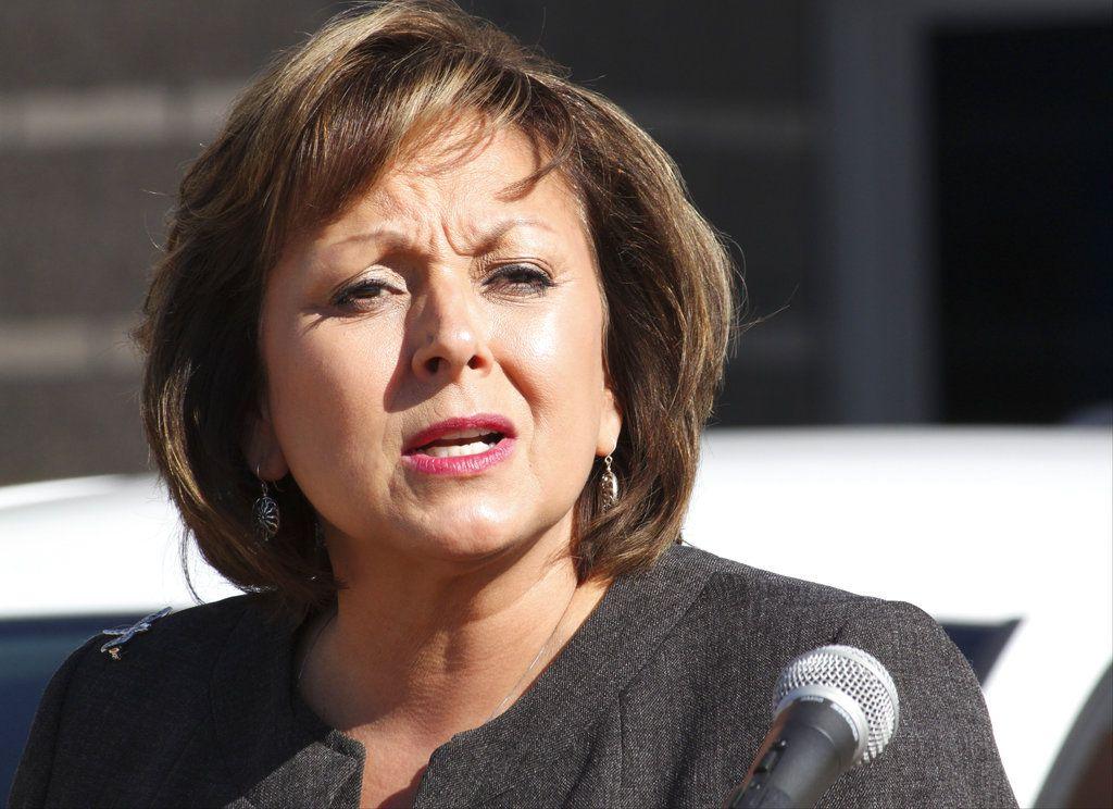 ARCHIVO – Esta foto de archivo del 18 de agosto del 2016 muestra a la gobernadora de Nuevo Mexico Susana Martínez hablando en Albuquerque, Nuevo México. (AP Foto/Susan Montoya Bryan, Archivo)