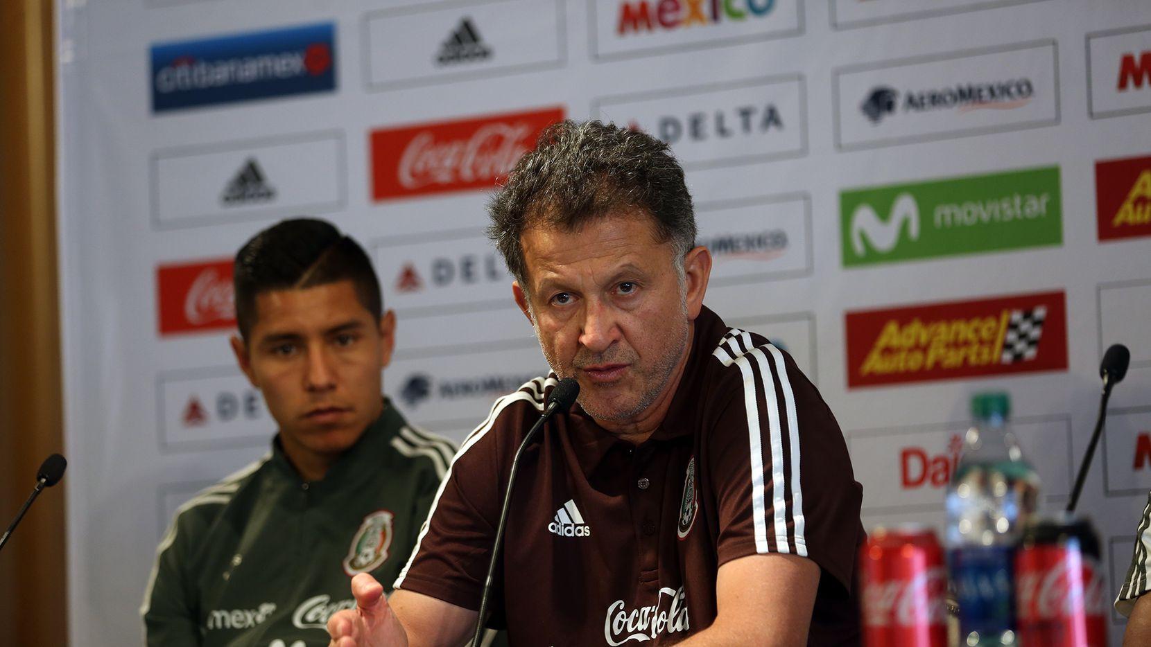 Juan Carlos Osorio es el técnico del Tri. Foto de Omar Vega para Al Día