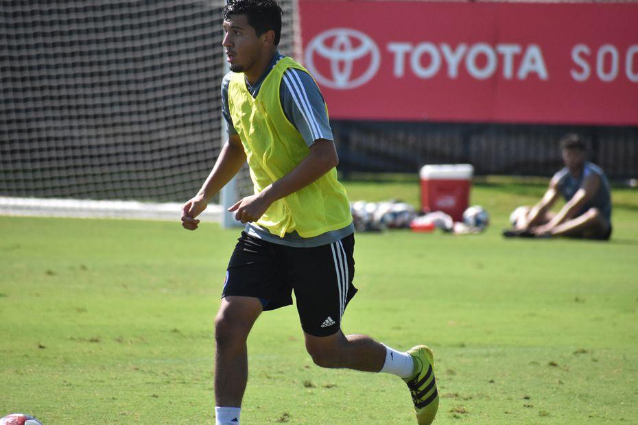 Guest FC Dallas player Miguel Ojeda. (7-31-19)