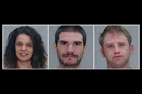 Ashley Jacobson, PJ Proctor y Marshall Woolis, acusados de tráfico de menores y abuso de una menor. CONDADO DE ECTOR