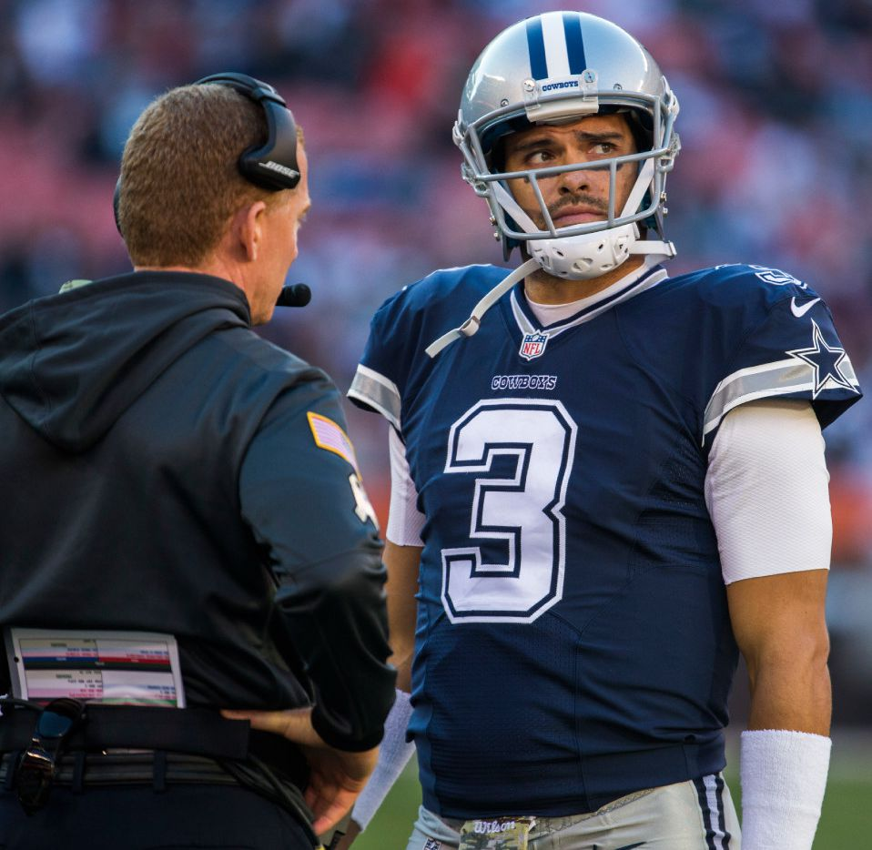 on sale ec440 0f5bc QB Mark Sanchez finally makes Cowboys debut, but it comes in ...