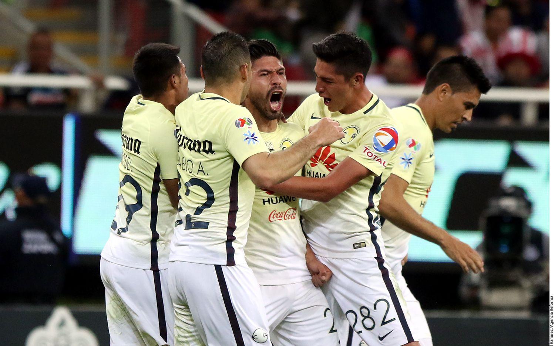 El América eliminó al Necaxa en semifinales del Apertura. Foto AGENCIA REFORMA