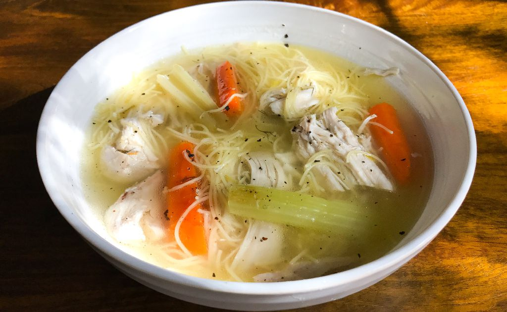 Fragrant, delicious homemade chicken soup is easier to make than you might think