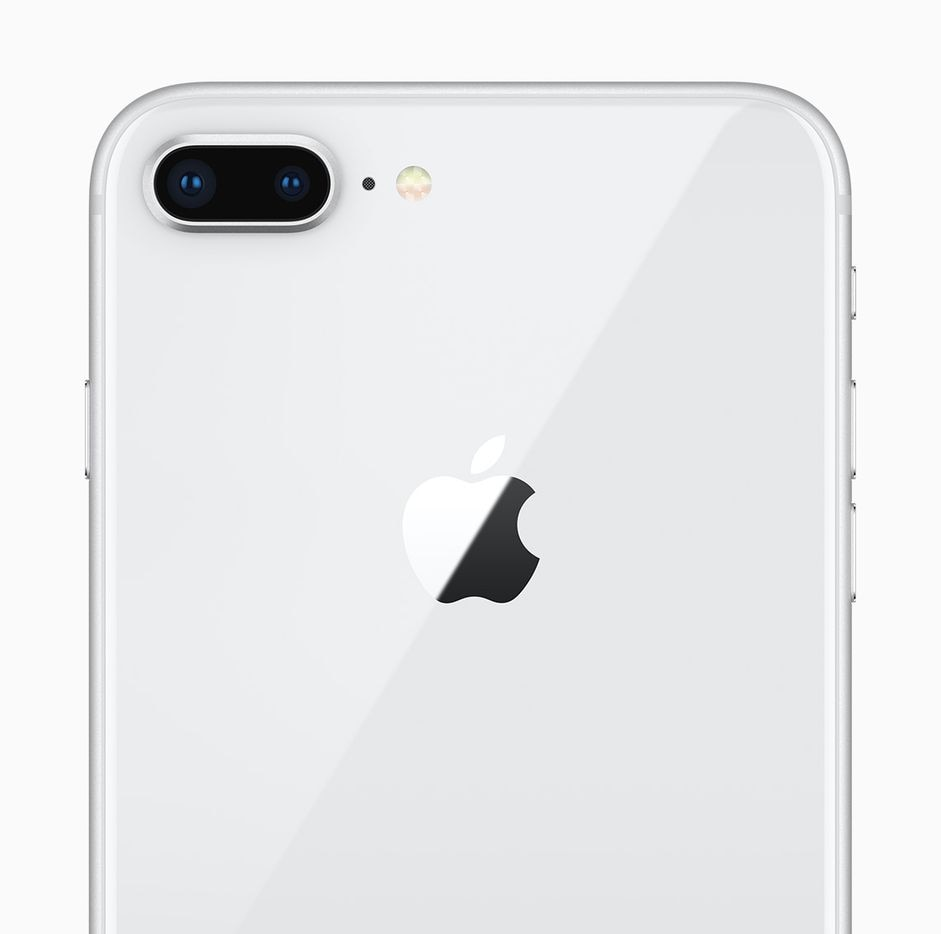 Dual cameras on the iPhone 8 Plus