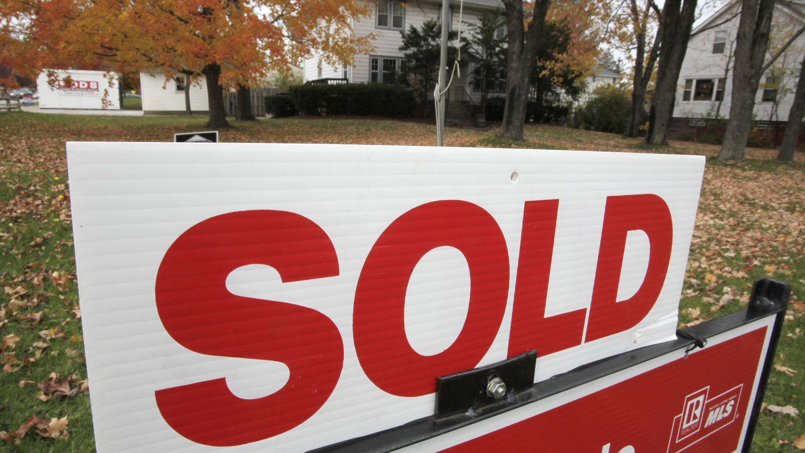 Overall home sales in North Texas were down 8 percent from a year ago in November.