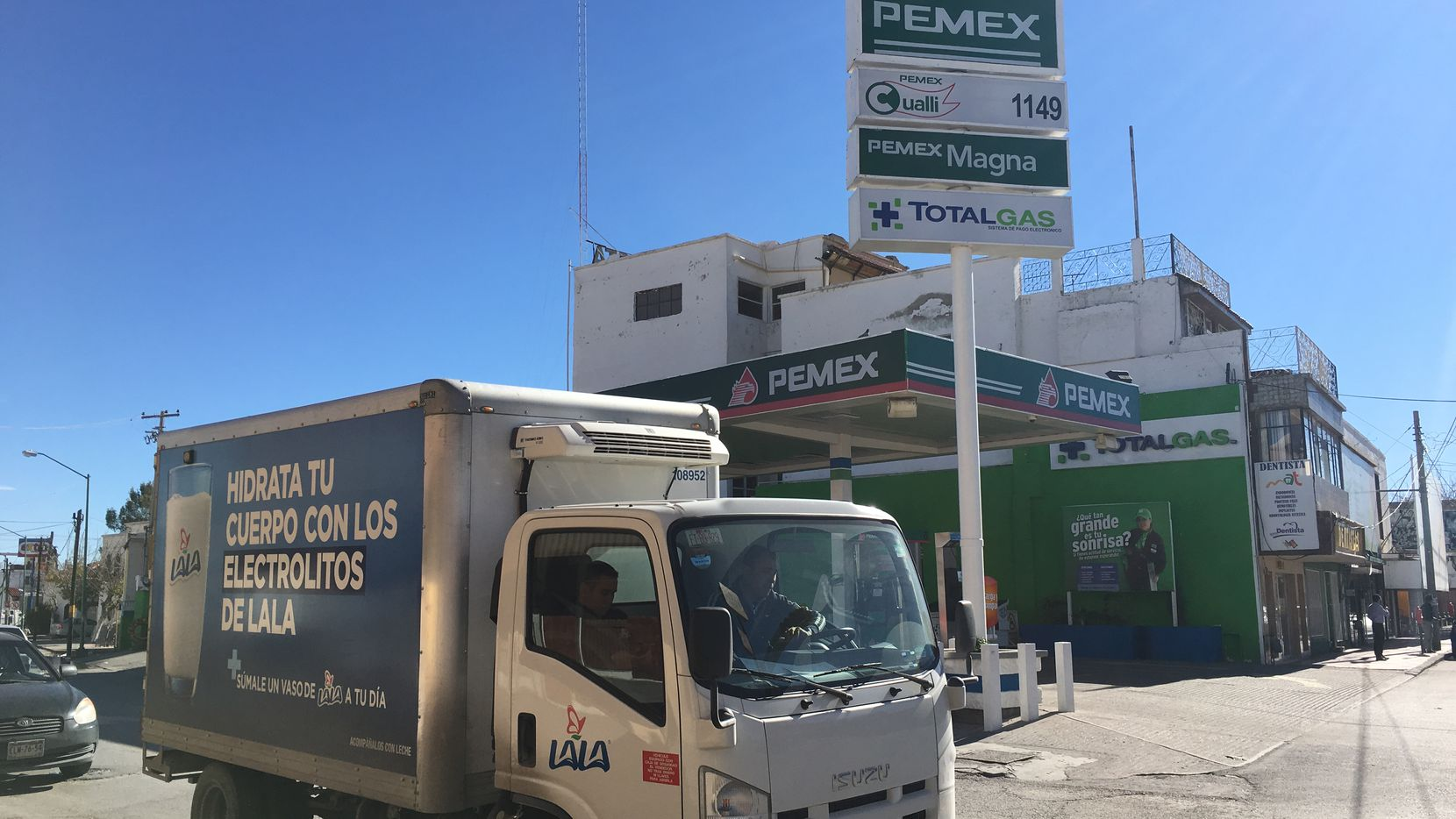 A 20 percent gas price hike at Pemex stations across Mexico took effect New Year's Day sparking outrage and causing pain at the pump for many motorists.
