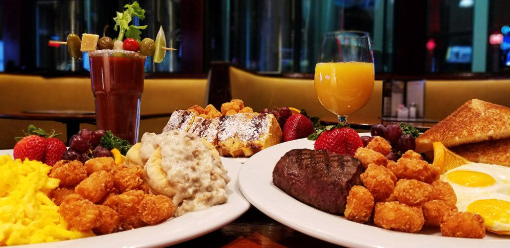 Humperdinks locations will offer Easter brunch for $14.99 for adults with choice of entree and cocktail, including biscuits and gravy, Hail Mary bloody Mary, French toast, 9-ounce grande mimosa and steak and eggs.