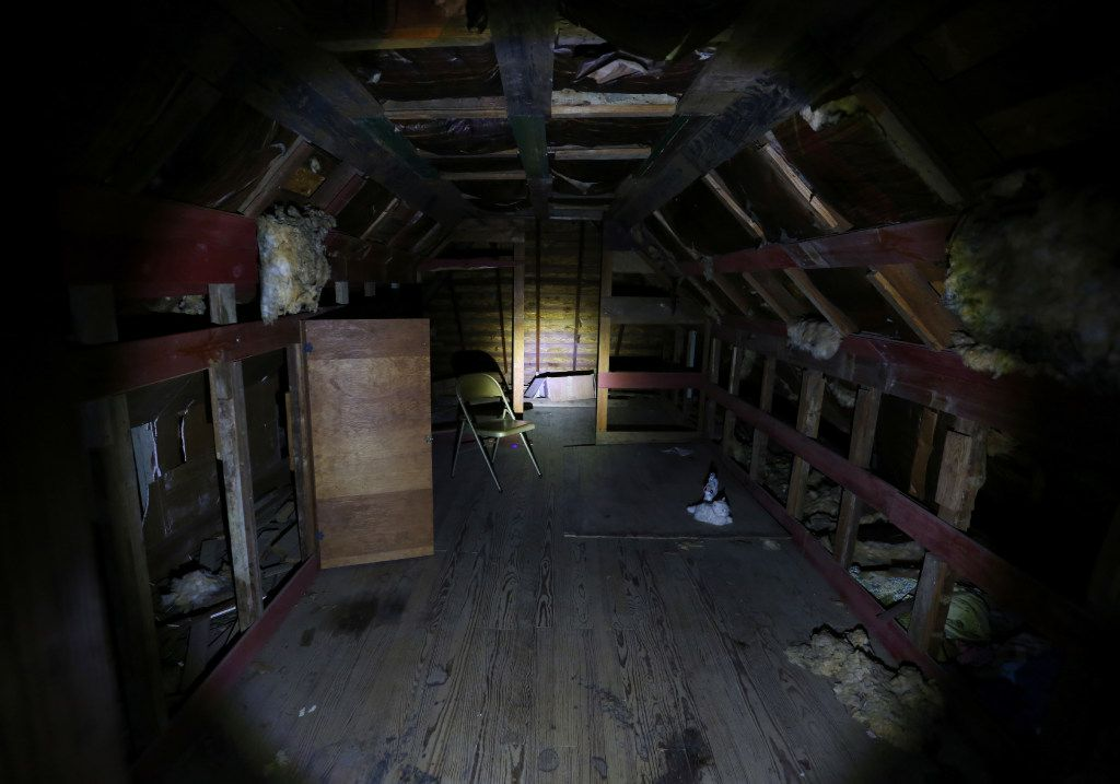 Joshua's room inside the Haunted Hill House in Mineral Wells, Texas on Friday, May 12, 2017. (Rose Baca/The Dallas Morning News)