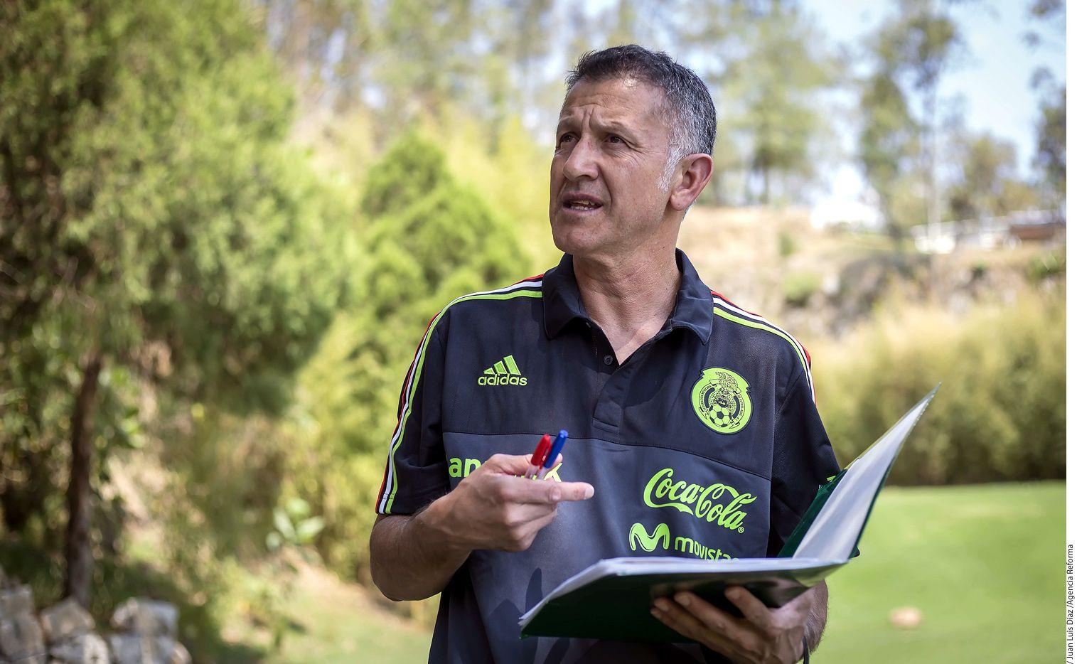 Juan Carlos Osorio seguirá al frente de la selección mexicana. Foto AGENCIA REFORMA