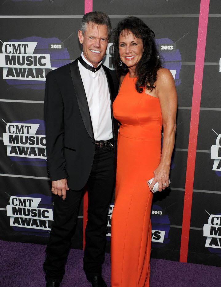 Randy Travis and his now-wife Mary at the CMT Awards in 2013, shortly before he was hospitalized in Plano. (Frank Micelotta/Invision/AP)