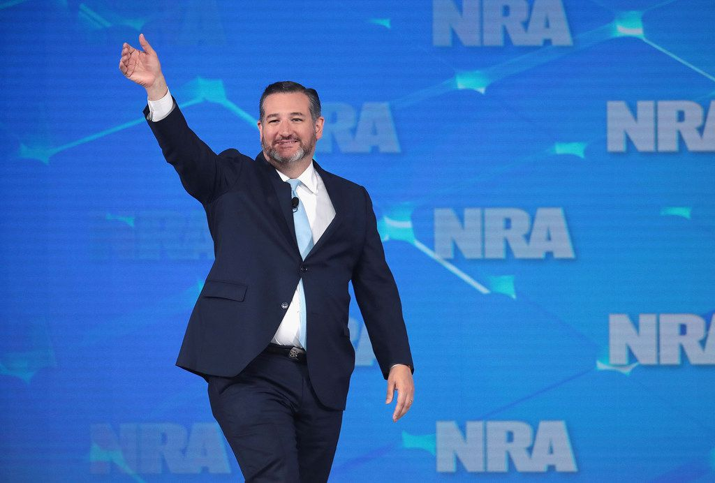 Sen. Ted Cruz, R-Texas, spoke during the NRA-ILA Leadership Forum at the 148th NRA Annual Meetings & Exhibits on April 26, 2019, in Indianapolis, Ind.