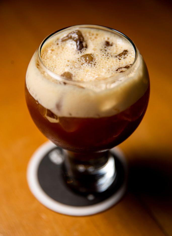 The carajillo cocktail at José in Dallas