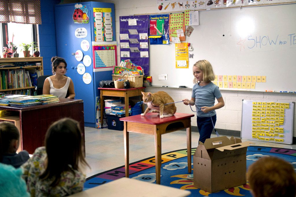 """Jennie Slate, left, and McKenna Grace appear in a scene from, """"Gifted."""""""