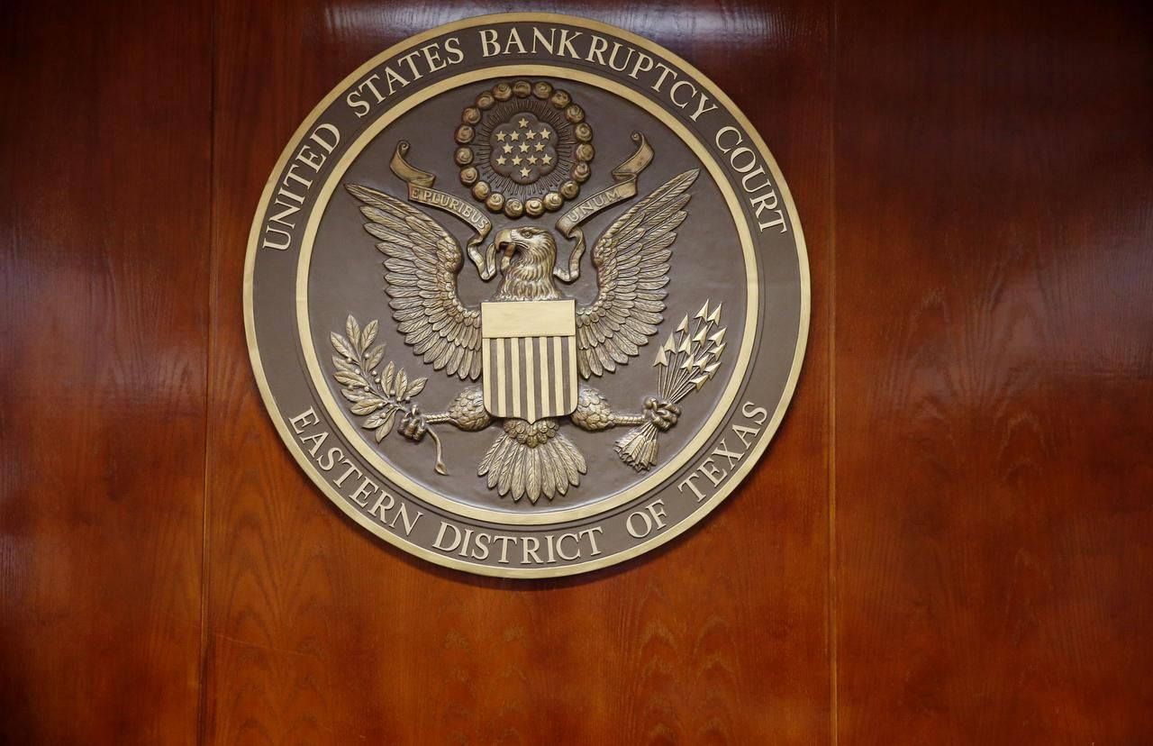 Inside the U.S. Bankruptcy Court of the Eastern District of Texas in Plano. Many distressed companies are avoiding filing for bankruptcy and are trying to restructure their debts outside of court.