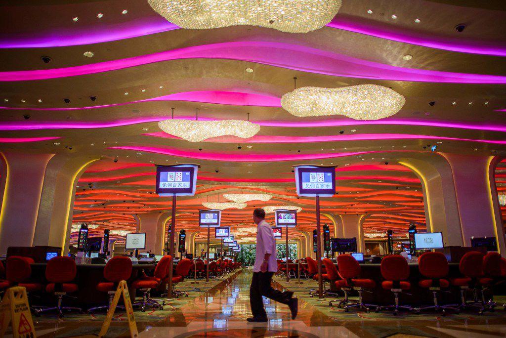 The Sands casino in Macau.