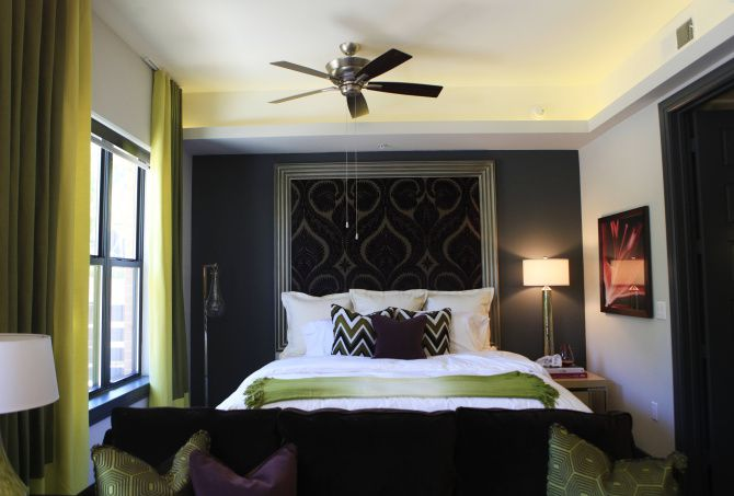 Studio apartments in StreetLights Residential's Taylor building in Uptown have less than 600 square feet of space.