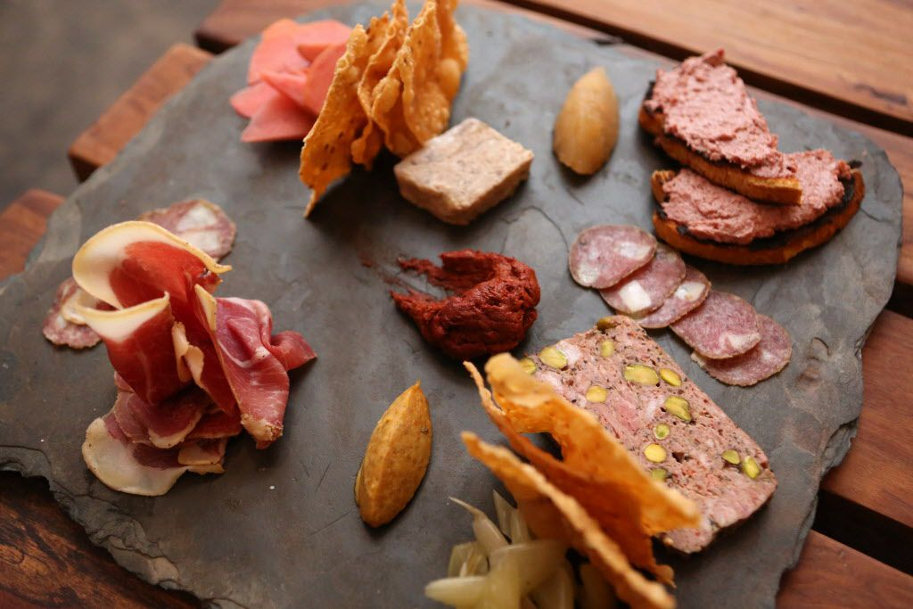 Charcuterie board is shown at Small Brewpub in Dallas, Texas, Saturday, February 14, 2015.