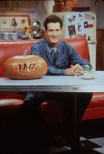 Joe Bob Briggs as host of a scary Friday The 13th movie marathon Halloween night on TNT.