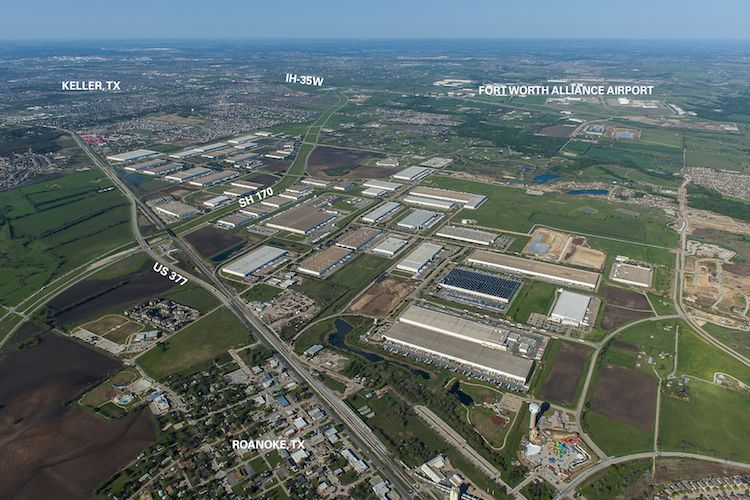 The 26,000-acre AllianceTexas development is in northern Tarrant and Denton counties.