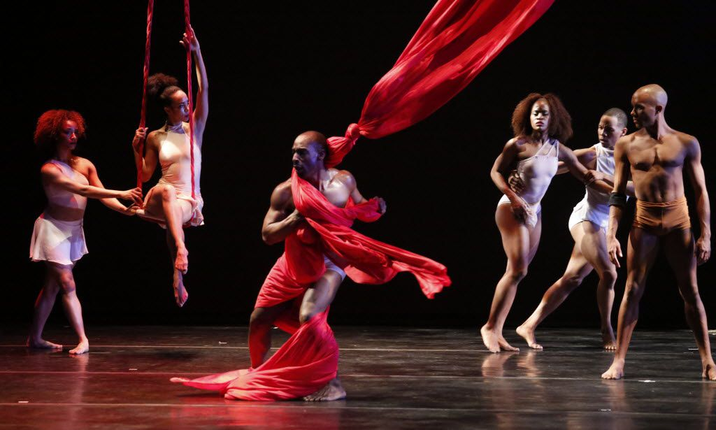 """The Dallas Black Dance Theatre will present its annual Cultural Awareness show at the Wyly Theatre at the AT&T Arts Center Feb. 15 at 7:30 p.m. The dance troupe performed """"The Parts They Left Out"""" as part of its 2016 show (pictured)."""