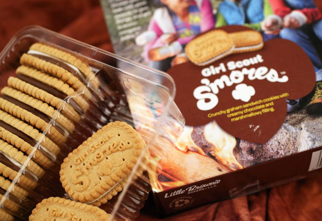 The Girl Scouts of the USA launched S'mores in recognition of the organization's 100th year of cookie sales.
