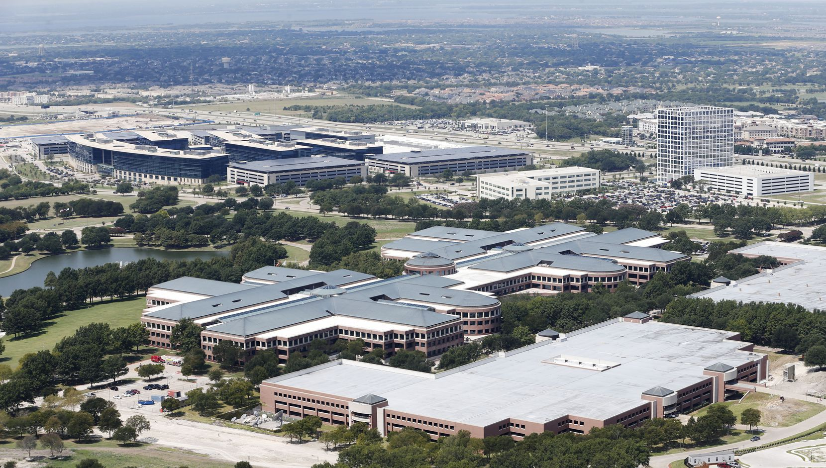 JCPenney headquarters in Plano  is next door to Toyota Motor's North America headquarters. The almost 30-year-old Penney campus is being redeveloped into a mixed-use project.