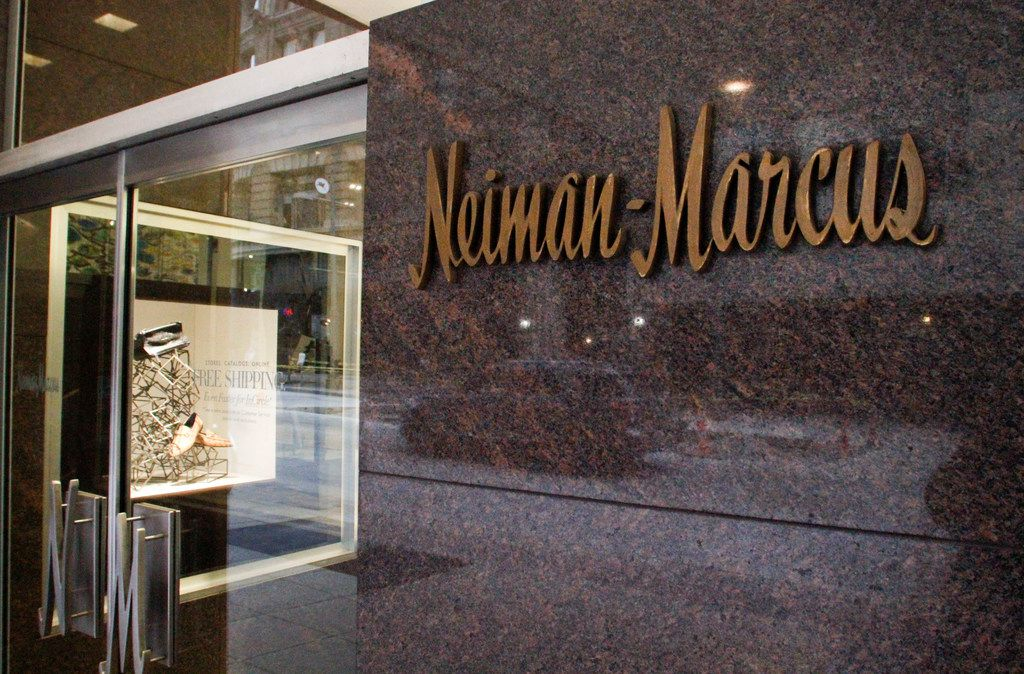 The Neiman Marcus store located in downtown Dallas, at 1618 Main St.