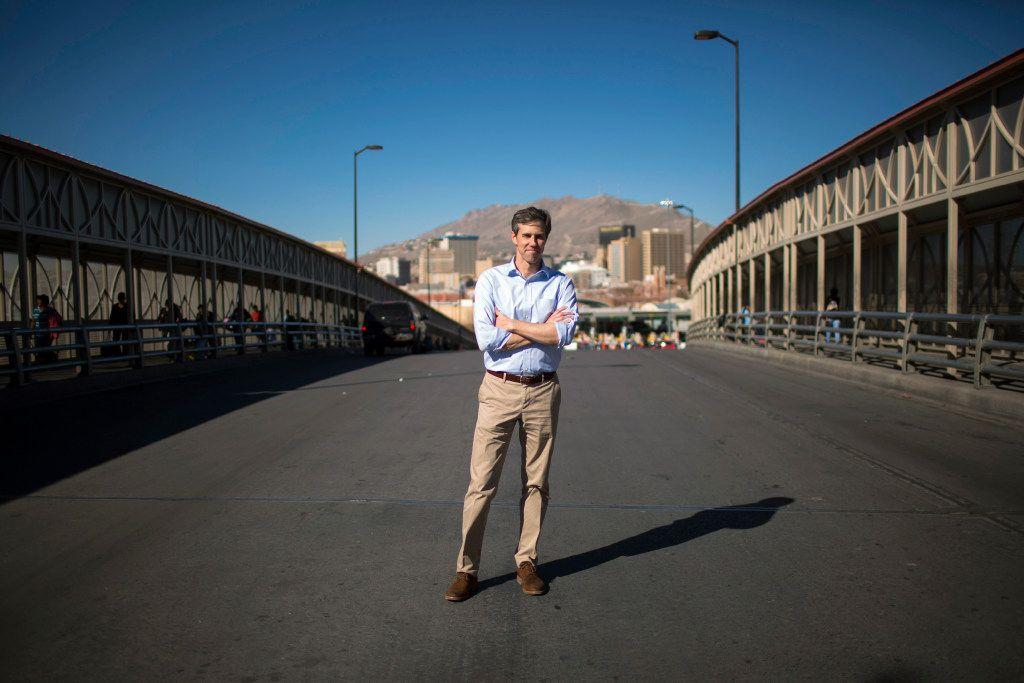 Rep. Beto O'Rourke, D-El Paso, is challenging Sen.Ted Cruz in 2018.