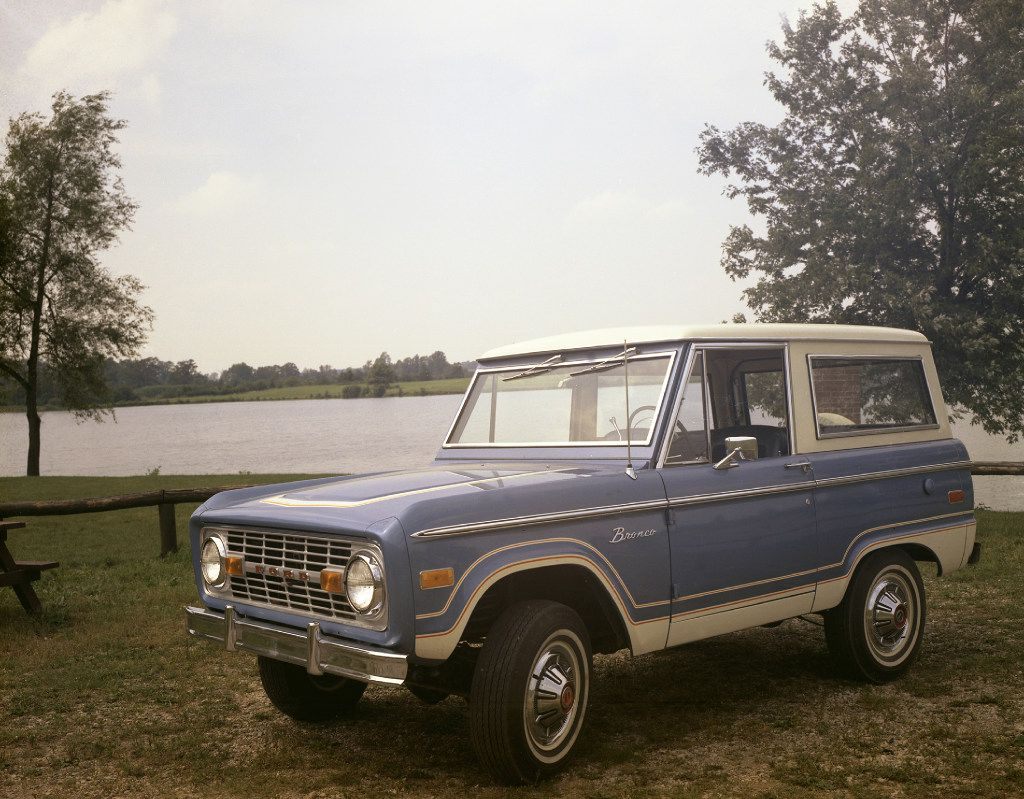 1973 Ford Bronco.