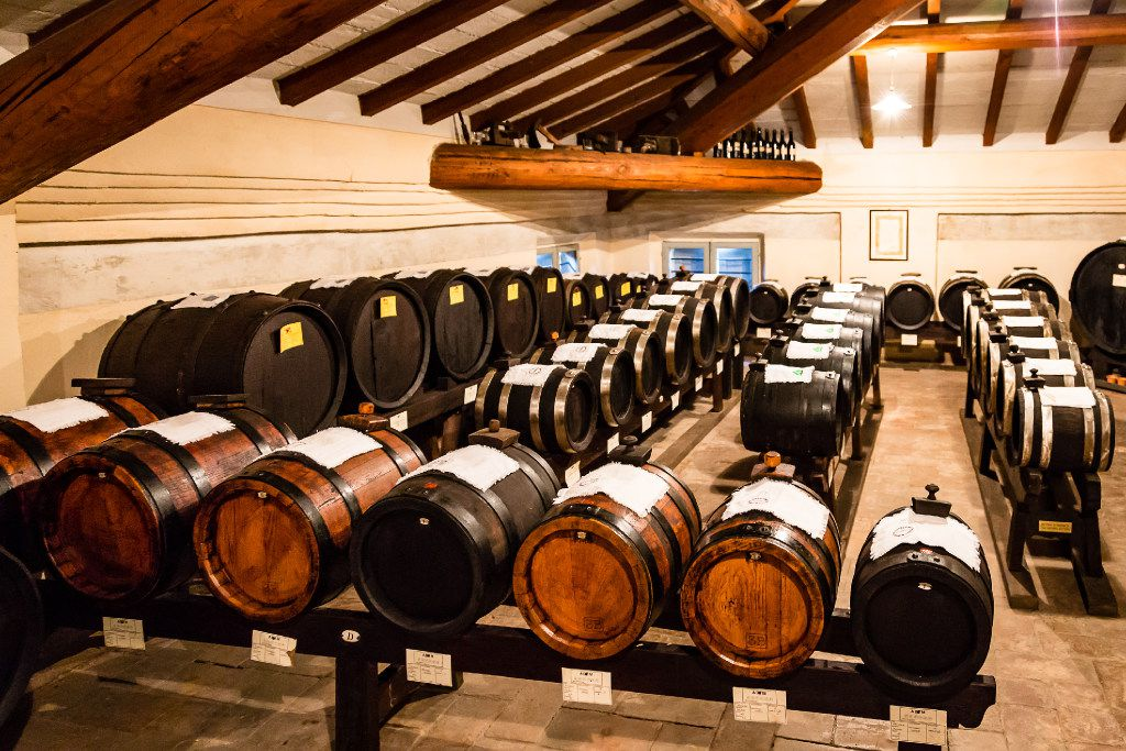 Tour the Balsamic Vinegar Museum, where vinegar ages for years.