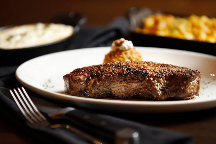Prime New York Strip at Del Frisco's Grille in Uptown Dallas