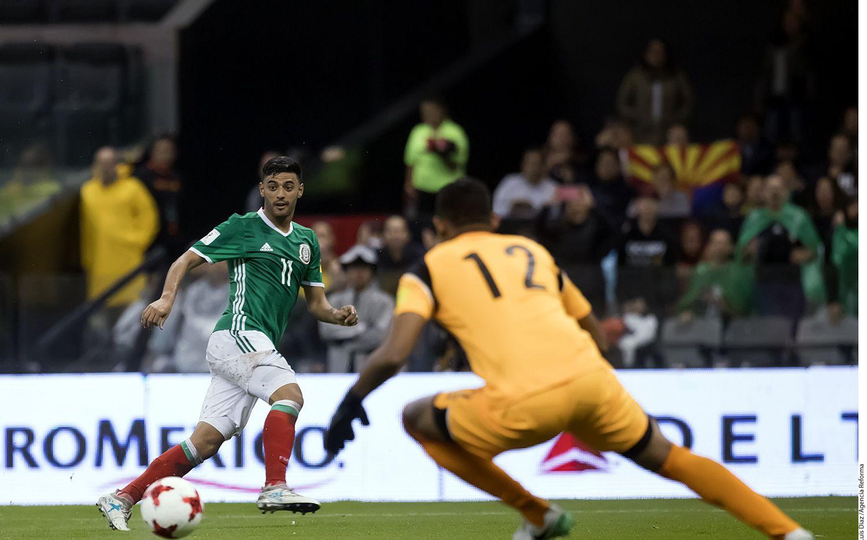 Carlos Vela, delantero de la Selección de México. AGENCIA REFORMA.
