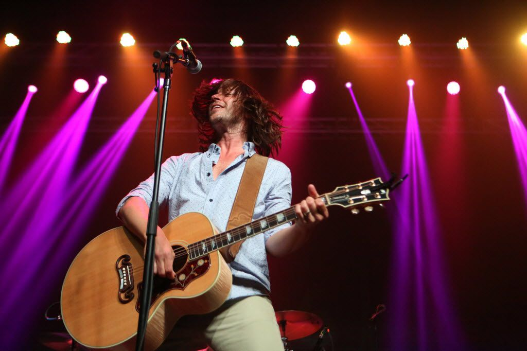 Rhett Miller of the Old 97's on stage at Homegrown Music and Arts Festival (All photos by Allison Slomowitz/Special Contributor)