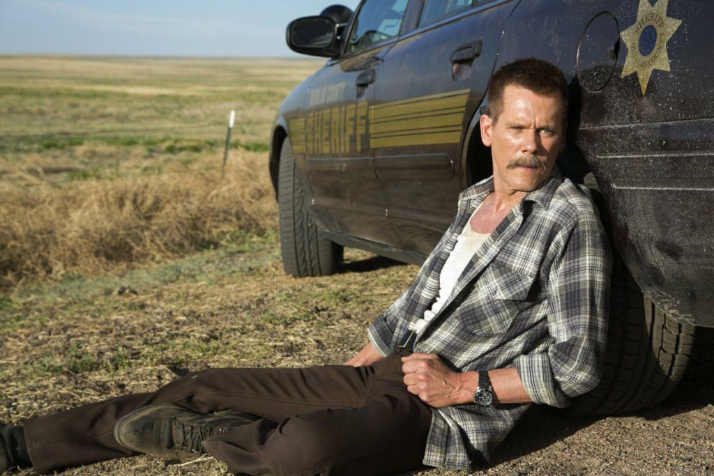 "Kevin Bacon plays the role of Sheriff Kretzer in ""Cop Car."""