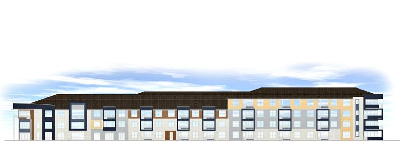 The proposed Residences at Hatcher Station.