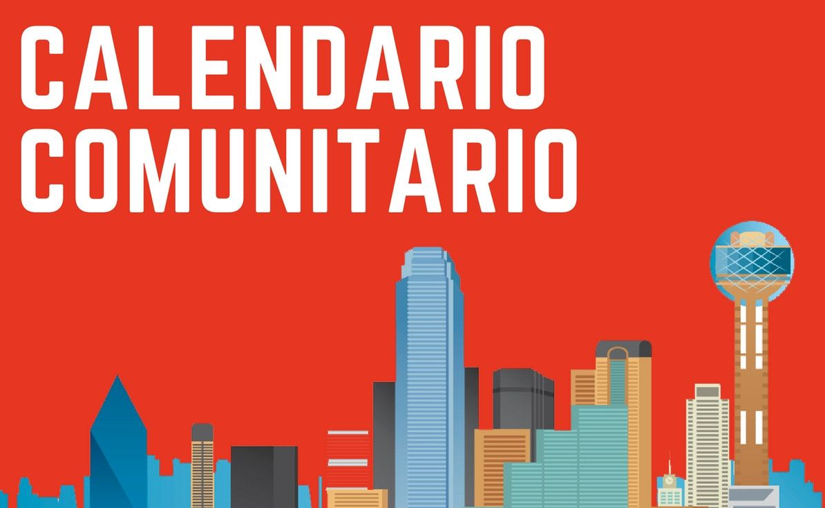Calendario Comunitario con eventos de Dallas – Fort Worth.