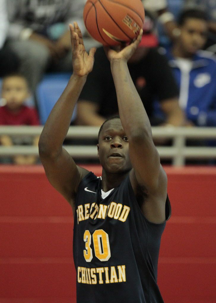 Prestonwood's Julius Randle (30) pictured as they played  Madison Prep Academy during the Thanksgiving Hoopfest  at Sandra Meadows Arena in Duncanville on November 23, 2012.  (Michael Ainsworth/The Dallas Morning News)