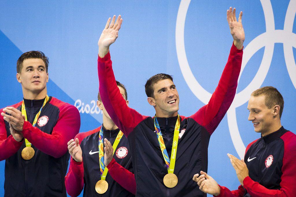Michael Phelps. Foto AP