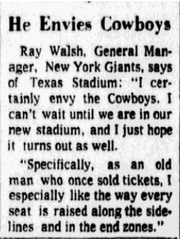 From the Oct. 24, 1971 edition of The Dallas Morning News.