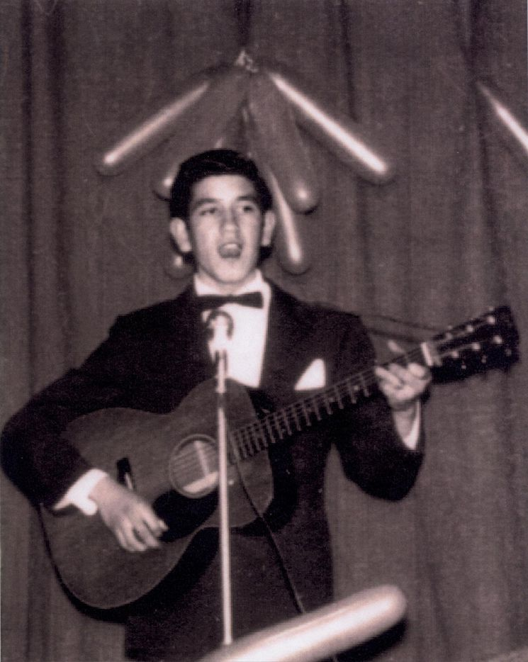 Trini Lopez performs as a teenager growing up in Dallas' Little Mexico.