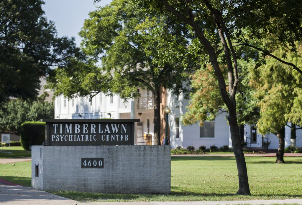Timberlawn Psychiatric Center at 4600 Samuell Blvd. in Dallas.