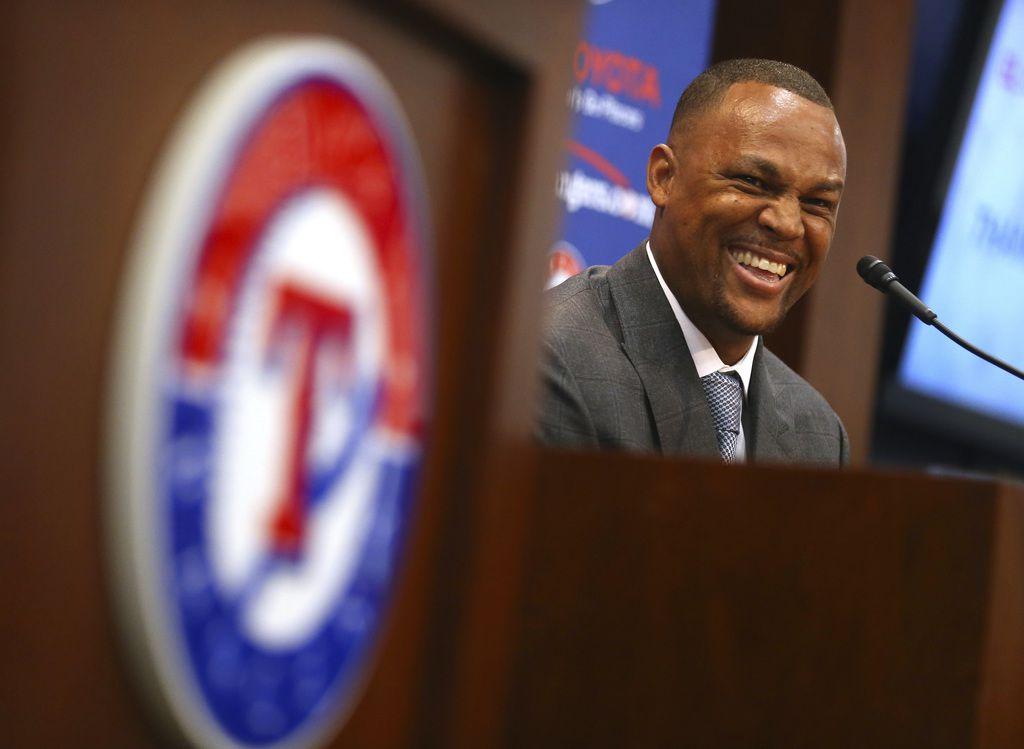 Adrian Beltre fue incluido en la boleta para la clase 2020 del Texas Sports Hall of Fame.  (AP Photo/Richard W. Rodriguez)