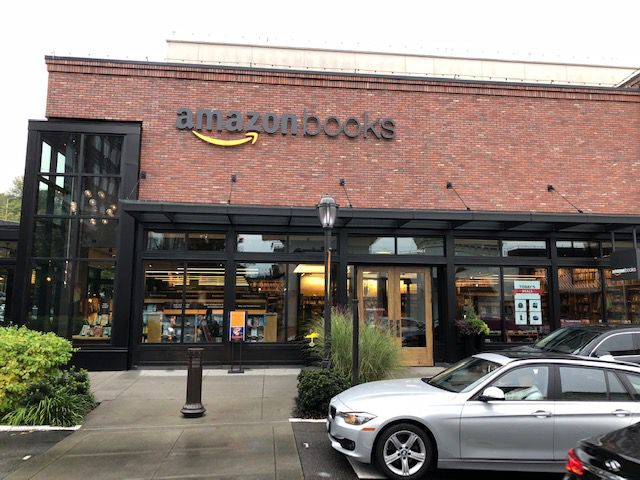 The first Amazon Books store in Seattle. One has opened in Austin, the only one in Texas.