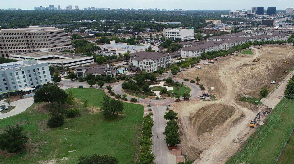 The Legacy Midtown Park site.