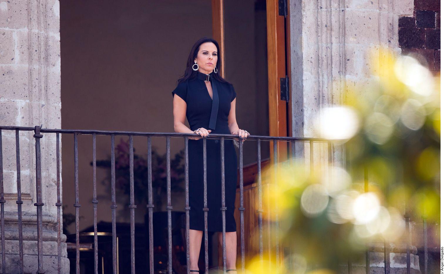 """Kate del Castillo dio su brazo a torcer y confesó que sí le dio mucho amor a Saúl """"El Canelo"""" Álvarez./ AGENCIA REFORMA"""