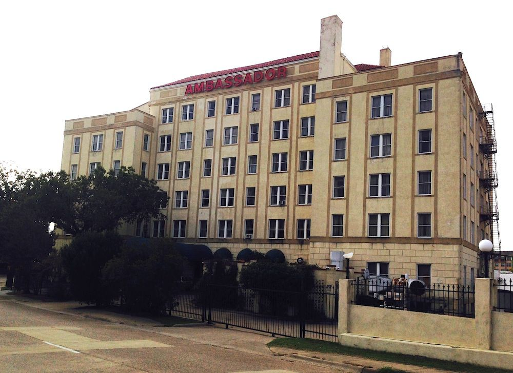 The Ambassador Hotel opened in 1905 south of downtown Dallas. (Steve Brown)