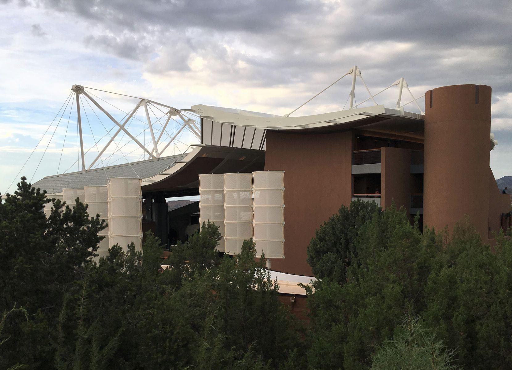 Santa Fe Opera's Crosby Theatre hosts the performances.