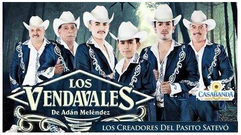Grupo Los Vendavales de Adán Meléndez.